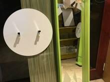 Esiku / vannitoa peegel ,nagidega ja valgustiga