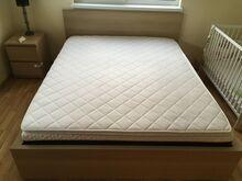 Vähe kasutatud voodi koos madratsitega 160*200
