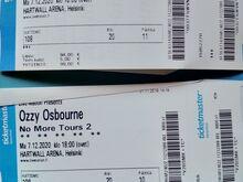 Ozzy Osbourne kontserdipiletid Hartwall Arena