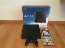 Playstation 4 500Gb + pult+ 2 mängu
