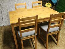 Söögilaud 4 tooliga