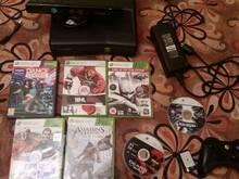 Xbox360 Slim 250gb + Kinect + 7games xbox 360