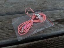 Kõrvaklapid 3,5mm otsik roosa