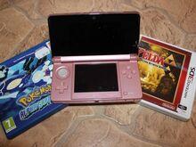 Konsool Nintendo 3DS+2 mängu!