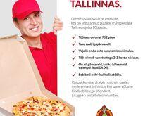 Pizzakulleri töö (lisa- või põhitöö)