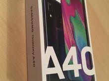 Uus Samsung Galaxy A40, Dual-SIM 4/64BG Black