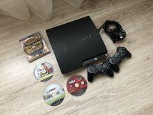 Sony Playstation 3 Slim 4 mängu 2 pulti