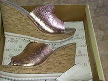 Nahast kingad platvormtalkaga, uued