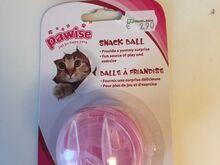 Toidupall mänguasjaks kassile Snack Ball