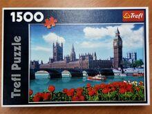 "Pusle ""Parliament, London, England"" 1500tk. puzzle"