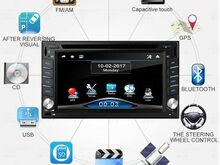 Multimeediakeskus DVD/GPS/USB/SD/Bluetooth