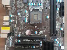 LGA1155 emaplaat: ASROCK B75M-GL + i3-2120