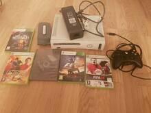 Xbox360 60gb+ 5cd mängud xbox 360