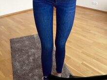Zara skinny teksad