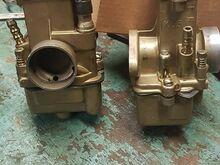 Dnepr/ural/k750 karburaatori paar.