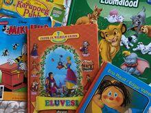 Laste raamatud ja dvd-d 2 tk