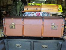 Vana reisikohver