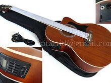 Elektroakustilise kitarri komplekt Natural, uus