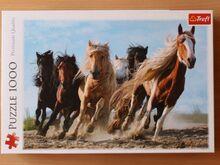 "Pusle ""Galloping horses"" 1000 tk (puzzle)"