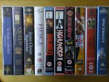 10 VHS filmi Highlander, Hot Shots 2, Spaceballs