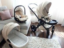 Milli Toddler 3in1 beige vankrikomplekt