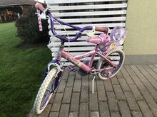 Tüdrukute jalgratas
