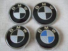 BMW carbon veljekapslid ja kapoti märk embleem