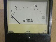 AC ampermeeter 150 ampriteks E8030 2,5%
