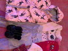 Tüdrukute riided suurus 110-116