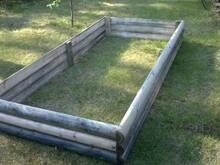 Peenrakast immutatud puidust 2,4x1,2m