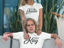 UUS!! Her King & His Queen T-Särgid