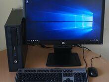 """Arvutikomplekt HP 800 G1 SFF, 23"""" HP IPS (I5, SSD)"""