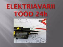 Elektriavarii tööd 24h