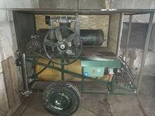 Kompressor K50HU ja Liivaprits