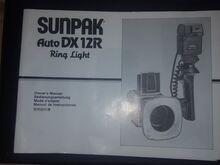 Välklamp Sunpak DX 12R.