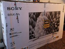 "Sony Bravia 4K Android 55"",( Varuosadeks)"