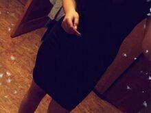 Tumesinine piha kleit.