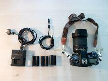 Nikon D7000 + AF-S Nikkor 18-105mm VR DX objektiiv