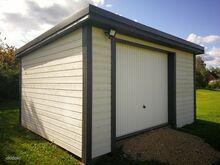 Aiamaja garaaz 19m2  metalluksega, elektrikilbiga