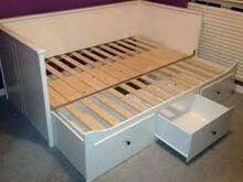 Ostan Ikea Hemnes voodi