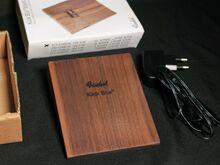 Jalatrumm Finhol Kickbox mark III+adapter