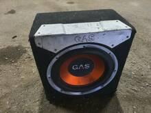 GAS sobwoofer + Hertz võimendi