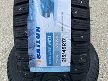 UUED! 215/45/R17 SAILUN IceBlazer*  91T XL naast