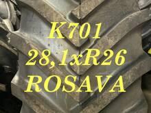 K701 rehvid 28,1xR26 ROSAVA 12pr