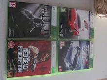 Xbox 360 orig. mängud RDR, COD BO2, TDU2, FM4