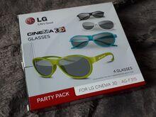 LG 3D prillid