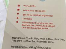 Viking line kinkekaart
