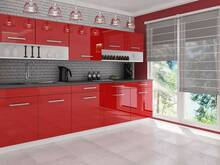 Köögimööbel Vanessa Punane