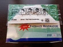 Respiraator/kaitsemask FFP 3