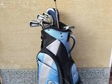 Nike golfibägi ja kepid uueväärne